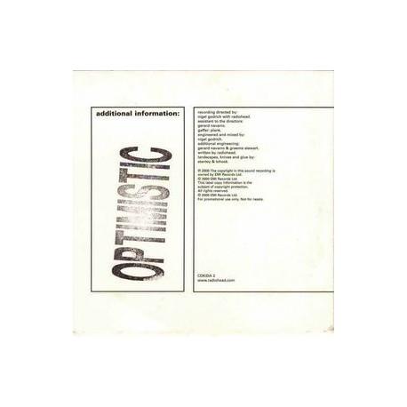 Radiohead - Optimistic - CD Single Promo