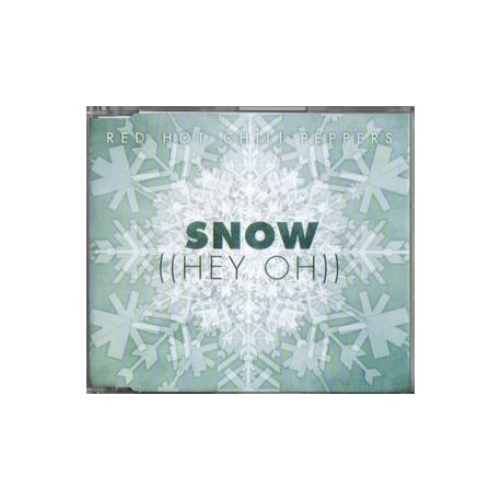 Red Hot Chili Peppers - Snow ((Hey Oh)) - CD Maxi Single Promo