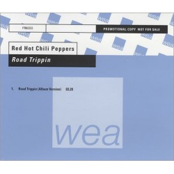 Red Hot Chili Peppers ‎- Road Trippin' - CD Maxi Single Promo