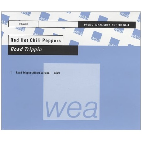 Red Hot Chili Peppers - Road Trippin' - CD Maxi Single Promo