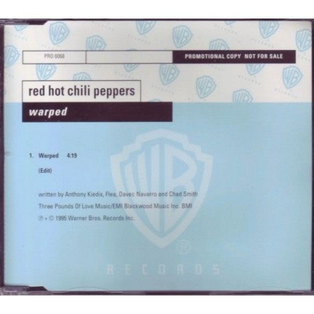 Red Hot Chili Peppers - Warped - CD Maxi Single