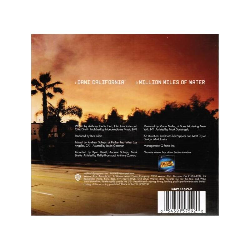 Red Hot Chili Peppers - Dani California - CD Single