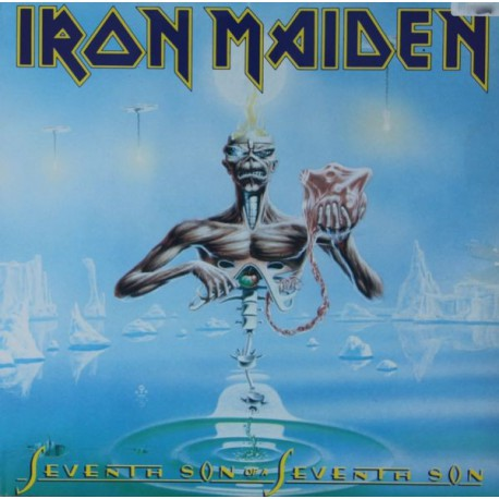 Iron Maiden ‎– Seventh Son Of A Seventh Son France LP