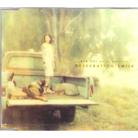 Red Hot Chili Peppers - Desecration Smile - CD Maxi Single Promo