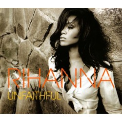 Rihanna ‎- Unfaithful - CD Single avec Sticker
