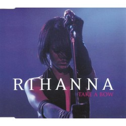 Rihanna ‎- Take A Bow - CD Maxi Single Promo