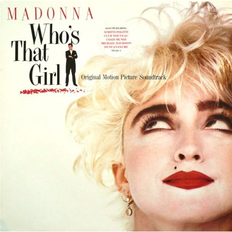 Madonna – Who's That Girl (Original Motion Picture Soundtrack)