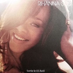 Rihanna ‎- SOS - CDr Single Promo