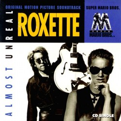 Roxette ‎- Almost Unreal - CD Single
