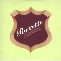 Roxette ‎- The Centre Of The Heart (Is A Suburb To The Brain) - CD Single Promo