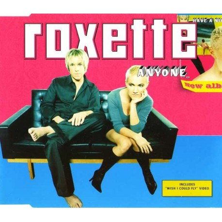Roxette - Anyone - CD Maxi Single