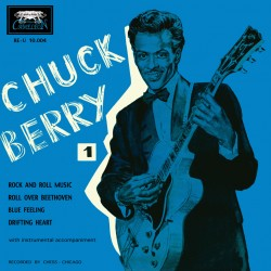 Chuck Berry Rock and Roll Music - EP 45 Tours Vinyl