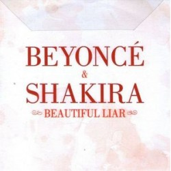 Beyoncé & Shakira ‎– Beautiful Liar - CDr Single Promo