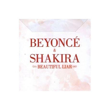 Beyoncé & Shakira – Beautiful Liar - CDr Single Promo