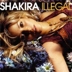 Shakira ‎– Illegal- CDr Single Promo 1 Track