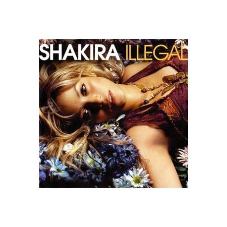 Shakira – Illegal- CDr Single Promo 1 Track
