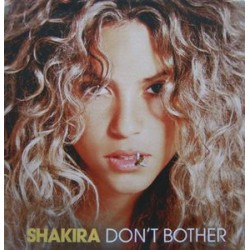 Shakira ‎– Don't Bother - CDr Single Promo