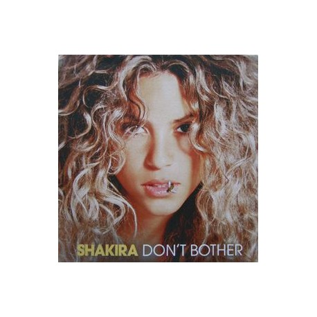Shakira – Don't Bother - CDr Single Promo