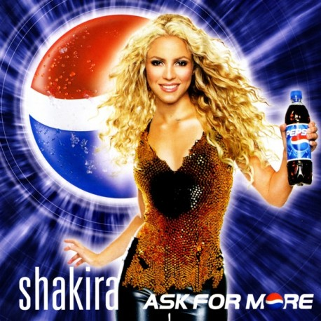 Shakira – Ask For More - CD Single Promo
