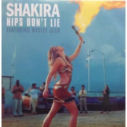 Shakira Featuring Wyclef Jean ‎– Hips Don't Lie - CDr Single Promo