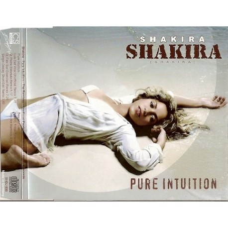 Shakira – Pure Intuition (The Remixes) - CDr Maxi Single Promo