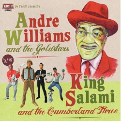 André Williams & King Salami - Compilation - LP Vinyl