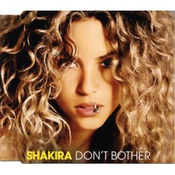 Shakira ‎– Don't Bother - CD Maxi Single