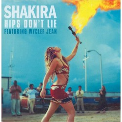 Shakira Featuring Wyclef Jean ‎– Hips Don't Lie - CD Maxi Single