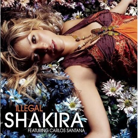 Shakira – Illegal - CD Maxi Single - featuring Carlos Santana