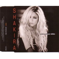 Shakira ‎– Underneath Your Clothes- CD Maxi Single Promo