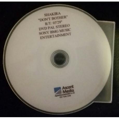 Shakira – Don't Bother - DVD Single Promo