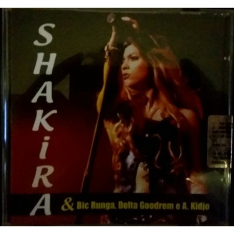 Shakira - Whenever, Wherever - CD Maxi Single Promo