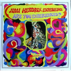 The Jimi Hendrix Experience ‎– Are You Experienced? - LP Vinyl - Coloured Blue