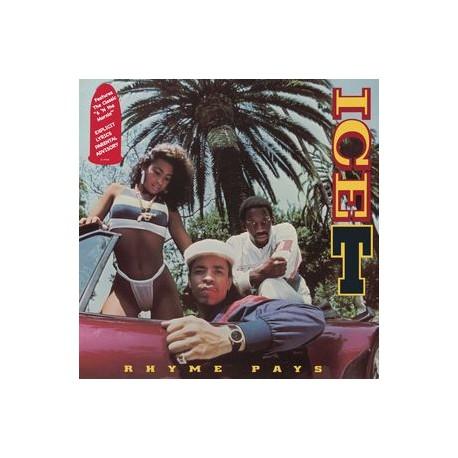 Ice-T – Rhyme Pays - LP Vinyl