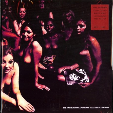 The Jimi Hendrix Experience – Electric Ladyland - Double LP Vinyl + Poster
