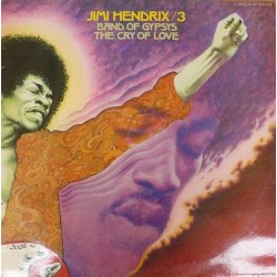 Jimi Hendrix ‎– Band Of Gypsys / The Cry Of Love - Double Vinyl LP