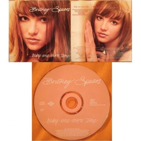 Britney Spears – ... Baby One More Time - CD Single Promo