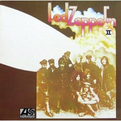 Led Zeppelin - II - Mexican Pressing - White coloured record