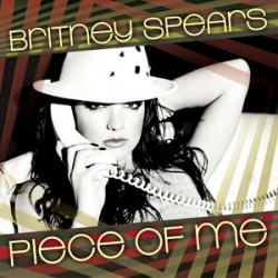 Britney Spears ‎– Piece Of Me - CDr Single Promo