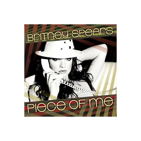 Britney Spears – Piece Of Me - CDr Single Promo
