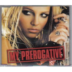 Britney Spears ‎– My Prerogative - CD Maxi Single Promo