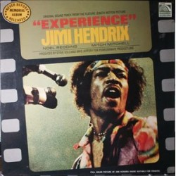 "Jimi Hendrix ‎– Original Soundtrack Of The Motion Picture ""Experience"" - LP Vinyl"