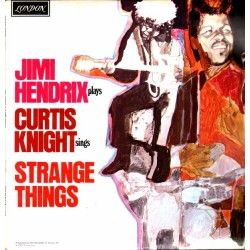 Jimi Hendrix & Curtis Knight ‎– Jimi Hendrix Plays Curtis Knight Sings Strange Things - LP Vinyl