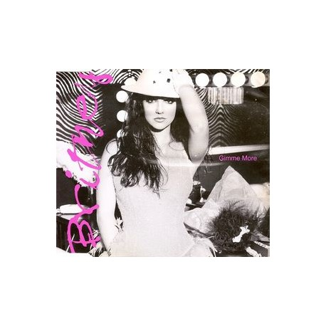 Britney Spears – Gimme More - CD Maxi Single