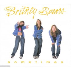 Britney Spears ‎– Sometimes - CD Maxi Single