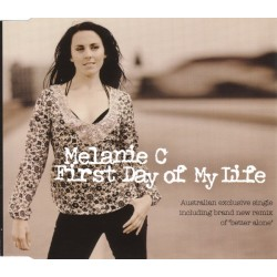 Melanie C ‎– First Day Of My Life - CD Maxi Single