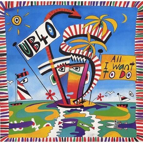 UB40 – All I Want To Do - Maxi Vinyl