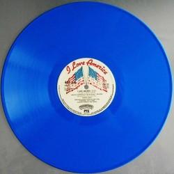 Patrick Juvet – I Love America - Maxi Vinyl - Limited Edition Blue Vinyl