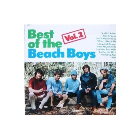The Beach Boys – The Best Of The Beach Boys Vol. 2 - LP Vinyl