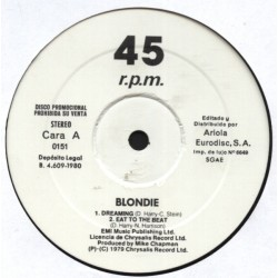 Blondie & Amii Stewart ‎– Dreaming - Eat To The Beat - Jealousy - He's A Burglar - Maxi Vinyl Promo